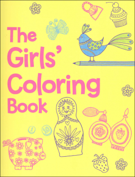 Girls' Coloring Book
