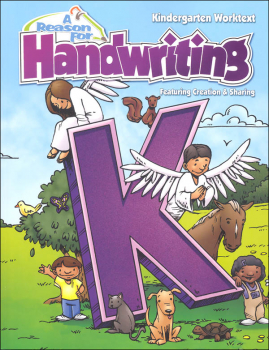 Reason for Handwriting K Student Workbook