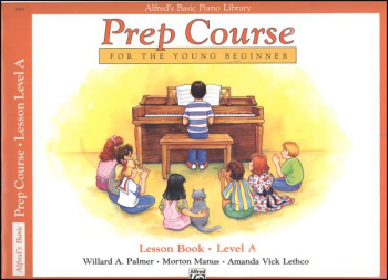 Alfred's Prep Course Level A Lesson Book