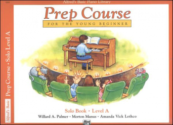 Alfred's Prep Course Level A Solo Book