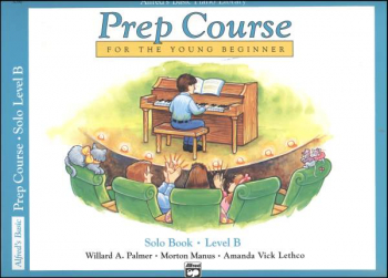 Alfred's Prep Course Level B Solo Book