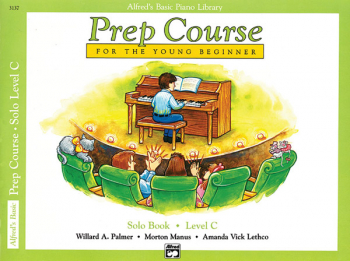 Alfred's Prep Course Level C Solo Book