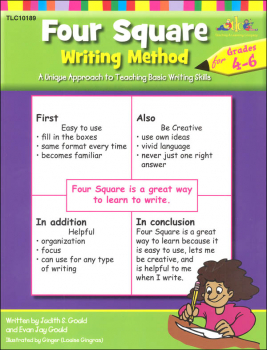 Four Square Writing Method Grades 4-6