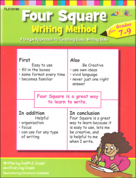 Four Square Writing Method Grades 7-9
