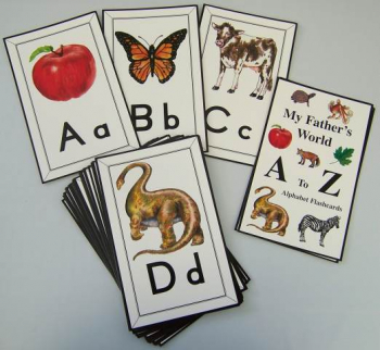A to Z Flashcard Set