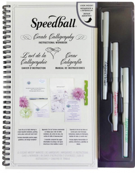 Create Calligraphy Instructional Workbook Kit