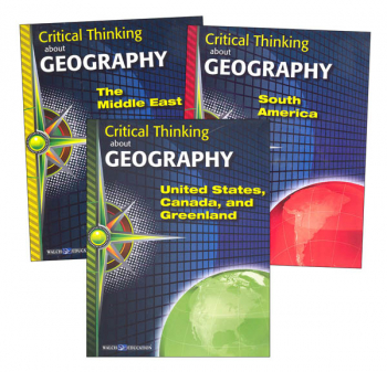 Critical Thinking About Geography Series -  3 Book Set