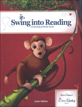 All About Reading Level 3 Swing Into Reading Activity Book Color Edition