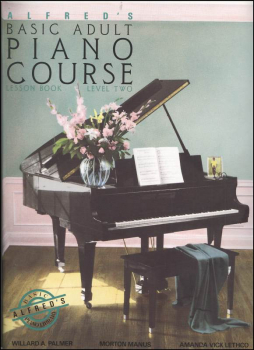 Alfred's Adult Piano Course Level 2 Lesson Book