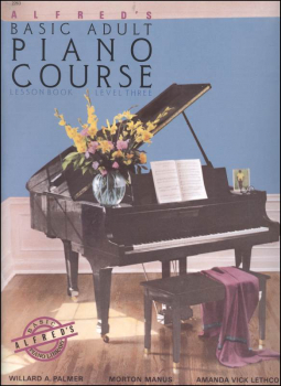 Alfred's Adult Piano Course Level 3 Lesson Book