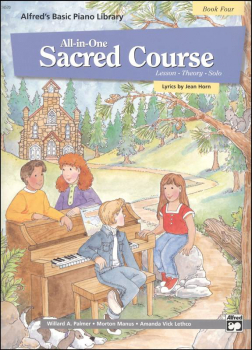 Alfred's Basic All-in-One Sacred Course Book 4
