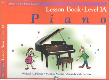 Alfred's Basic Course Level 1A Lesson Book
