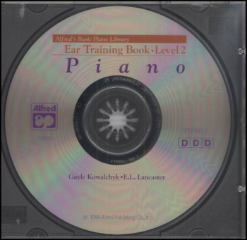 Alfred's Basic Course Level 2 CD for Ear Training Book