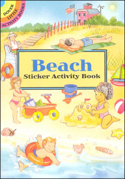 Beach Sticker Activity Book