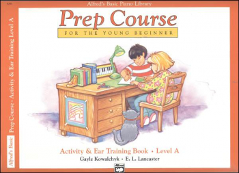 Alfred's Prep Course Level A Activity & Ear Training Book