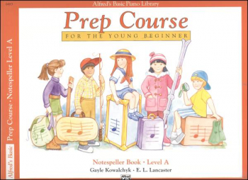 Alfred's Prep Course Level A Notespeller Book