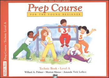 Alfred's Prep Course Level A Technic Book