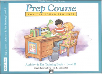 Alfred's Prep Course Level B Activity & Ear Training Book