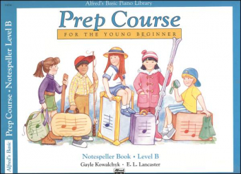 Alfred's Prep Course Level B Notespeller Book