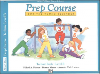 Alfred's Prep Course Level B Technic Book