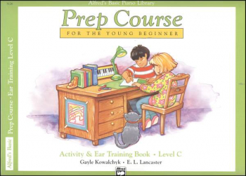 Alfred's Prep Course Level C Activity & Ear Training Book