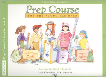 Alfred's Prep Course Level C Notespeller Book
