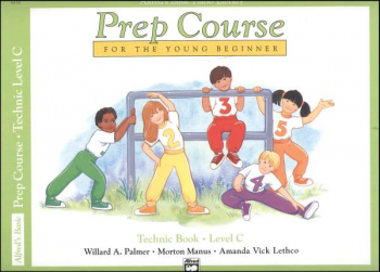 Alfred's Prep Course Level C Technic Book