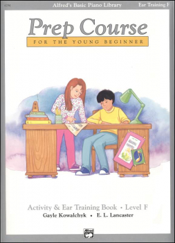 Alfred's Prep Course Level F Activity & Ear Training Book