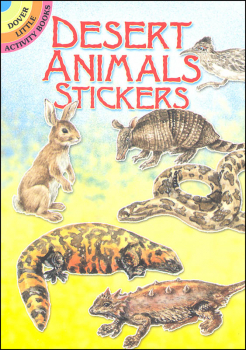 Desert Animals Stickers