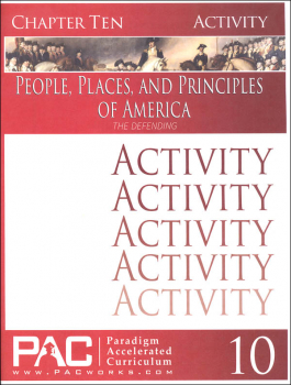 People Places & Principles of America Chapter 10 Activities (Year 2)