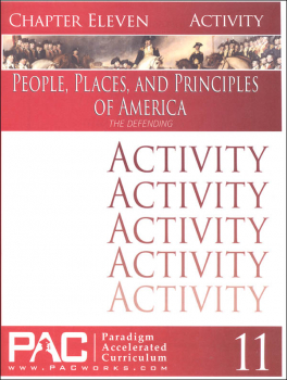 People Places & Principles of America Chapter 11 Activities (Year 2)