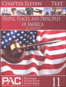 People Places & Principles of America Chapter 11 Text (Year 2)