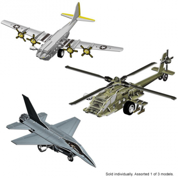 Smithsonian Motorized 3D Puzzle - Flight Assorted (I of 3 possible models)