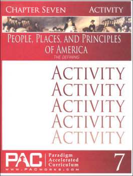People Places & Principles of America Chapter 7 Activities (Year 2)