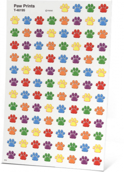 All About Spelling Level 3 Private Eye Paw Print Stickers
