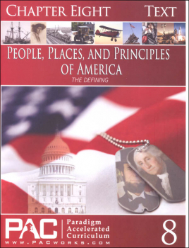 People Places & Principles of America Chapter 8 Text (Year 2)