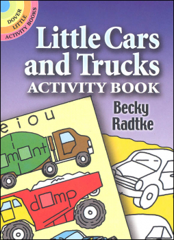 Little Cars and Trucks Activity Book