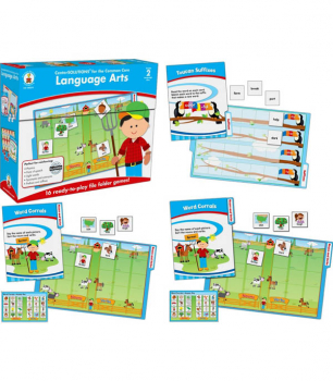 Language Arts File Folder Games Grade 2
