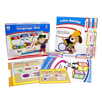 Language Arts File Folder Games Grade K
