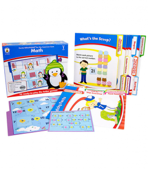 Math File Folder Games Grade 1
