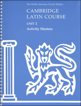 Cambridge Latin Course Unit 2 Activity Masters