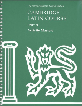 Cambridge Latin Course Unit 3 Activity Masters