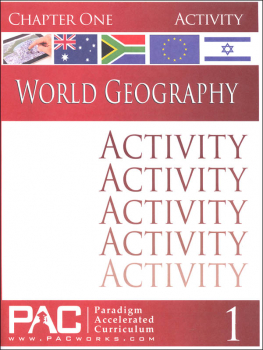 World Geography - Chapter 1 Activities