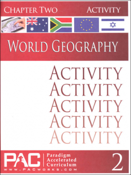 World Geography - Chapter 2 Activities
