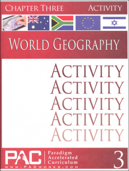 World Geography - Chapter 3 Activities