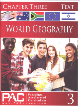 World Geography - Chapter 3 Text