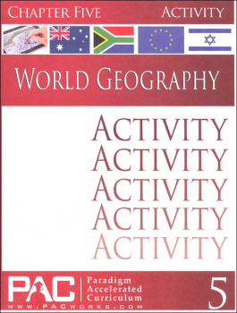 World Geography - Chapter 5 Activities