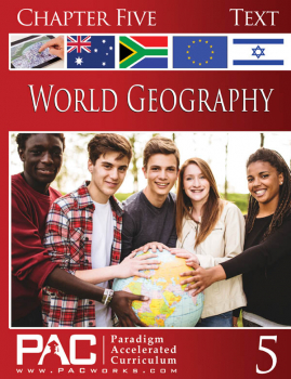 World Geography - Chapter 5 Text