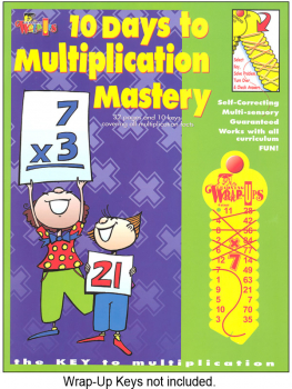 10 Days to Multiplication Mastery Teaching Gd
