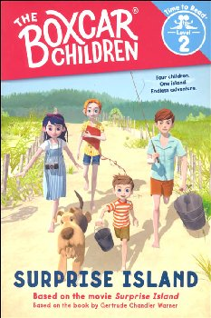 Surprise Island (Boxcar Children Time to Read Level 2)